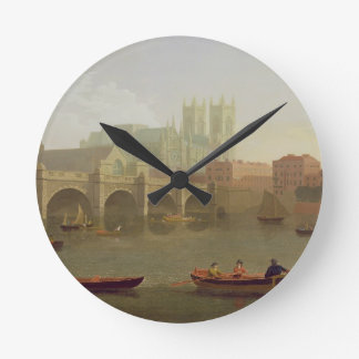 Westminster Abbey and Westminster Bridge Seen from Round Wallclock