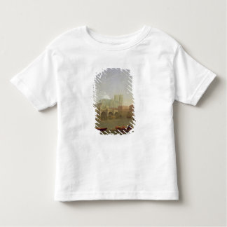 Westminster Abbey and Westminster Bridge Seen from Toddler T-shirt
