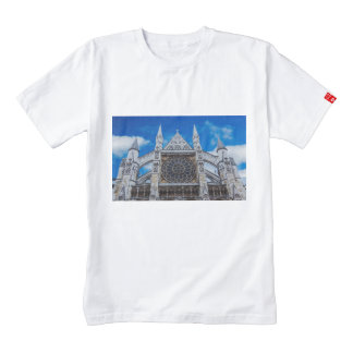 Westminster Abbey cathedral Zazzle HEART T-Shirt