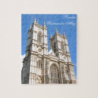 Westminster Abbey in London, UK Jigsaw Puzzle