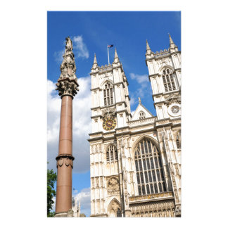Westminster Abbey in London, UK Stationery