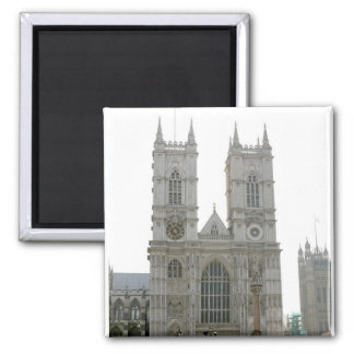 Westminster Abbey, London 2 Inch Square Magnet