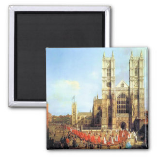Westminster Abbey london 2 Inch Square Magnet