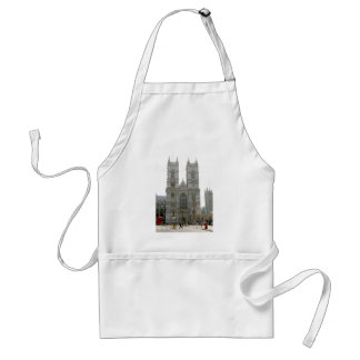 Westminster Abbey, London Adult Apron