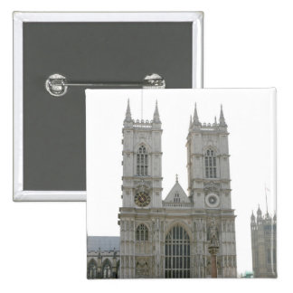Westminster Abbey, London 2 Inch Square Button