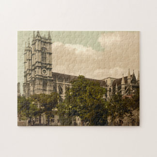 Westminster Abbey, London, England Jigsaw Puzzle