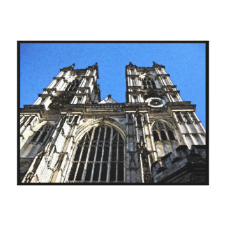 Westminster Abbey, London England on Canvas