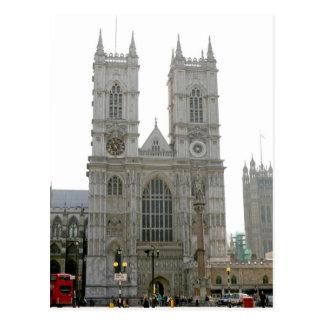 Westminster Abbey, London Postcard
