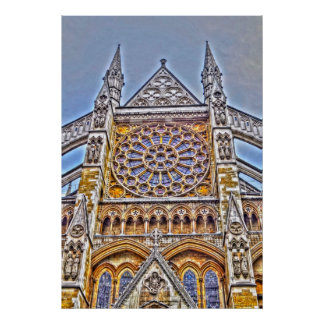 Westminster Abbey, London, U.K. Poster