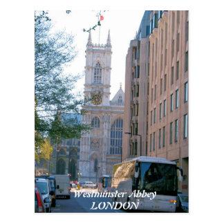 Westminster Abbey London UK postcard