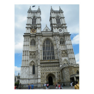 Westminster Abbey Postcard