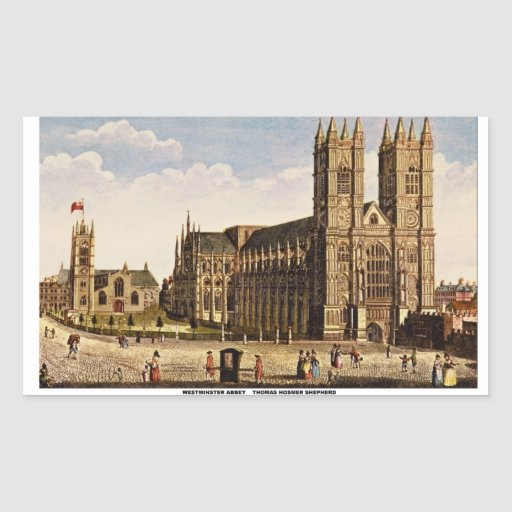 Westminster Abbey Stickers