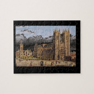 Westminster Abbey', Thomas_Engravings Jigsaw Puzzle