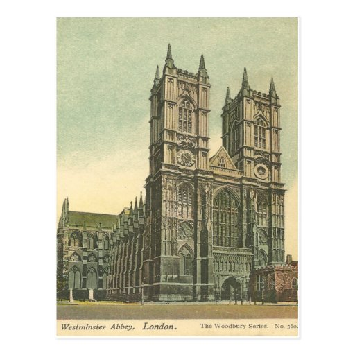 Westminster Abbey Vintage Post Card