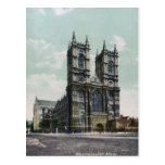 Westminster Abbey Vintage Postcard
