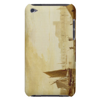 Westminster Bridge and Abbey, 1813 (oil on board) iPod Touch Cover