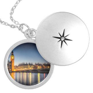 Westminster Bridge and Big Ben Locket Necklace