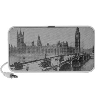 Westminster Bridge and the Houses of Portable Speakers
