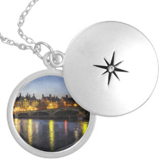 Westminster Bridge Art Locket Necklace