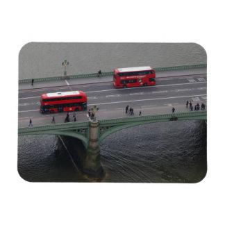 "Westminster Bridge & Buses 3""x4"" Magnet"
