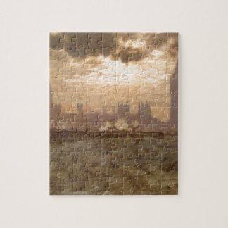Westminster Bridge by Giuseppe de Nittis Jigsaw Puzzle