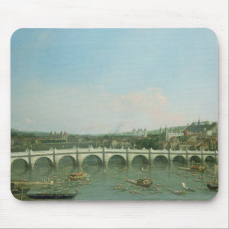 Westminster Bridge from the North with Lambeth Mouse Pad