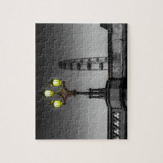 Westminster Bridge Lamp Jigsaw Puzzle