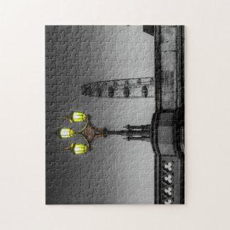 Westminster Bridge Lamp Puzzle