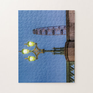 Westminster Bridge Lamp Puzzles