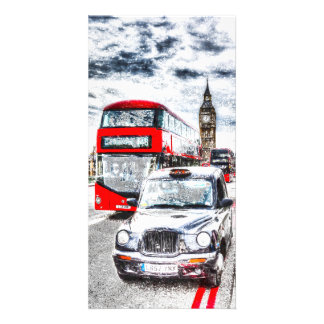 Westminster Bridge London Art Card