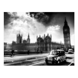 Westminster Bridge London Postcard