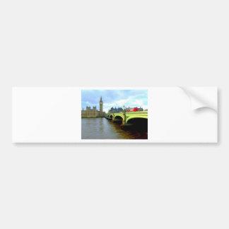Westminster Bridge, London UK Car Bumper Sticker