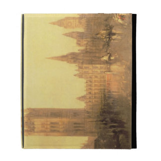 Westminster: Casas del parlamento, c.1860 (aceite