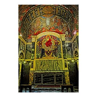 Westminster Cathedral Chapel, London, U.K. Poster