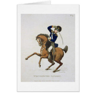Westminster Cavalry Volunteer, plate 4 from 'Loyal Card