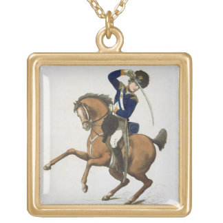 Westminster Cavalry Volunteer, plate 4 from 'Loyal Gold Plated Necklace