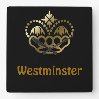 Westminster Square Wall Clock