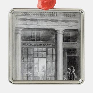 Westminster Diary, The Quadrant, Regent Street Metal Ornament
