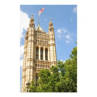 Westminster en Londres, Reino Unido Papelería