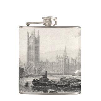 Westminster England 1894 Hip Flasks