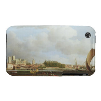 Westminster from Lambeth, with the ceremonial barg iPhone 3 Case