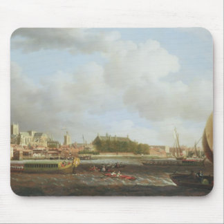 Westminster from Lambeth, with the ceremonial barg Mouse Pad