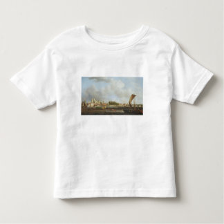 Westminster from Lambeth, with the ceremonial barg Toddler T-shirt