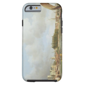 Westminster from Lambeth, with the ceremonial barg Tough iPhone 6 Case