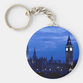 Westminster from the south bank of the Thames, Lon Key Chains
