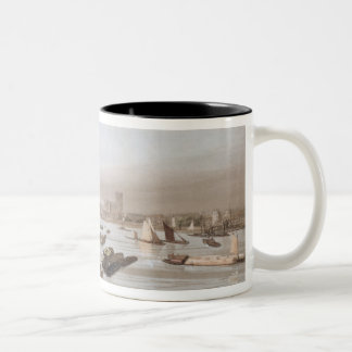 Westminster from Waterloo Bridge, incorporating th Mug