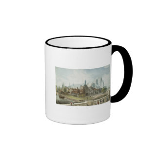 Westminster Hall and Abbey Ringer Coffee Mug