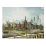 Westminster Hall and Abbey Post Card