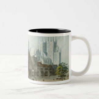 Westminster Hall and Abbey Two-Tone Coffee Mug