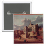 Westminster Hall and New Palace Yard 2 Inch Square Button